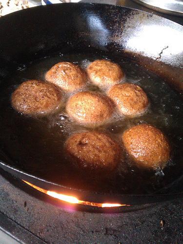 揚げパン(はったい粉まんじゅう)2